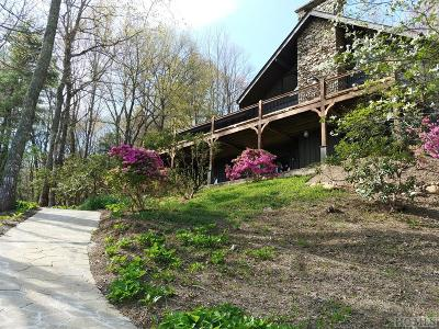 Lake Toxaway Single Family Home For Sale: 590 Cherokee Trace
