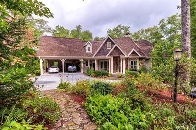 Cashiers Single Family Home For Sale: 350 Cherokee Views