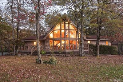 Lake Toxaway Single Family Home For Sale: 100 Echo Springs Point
