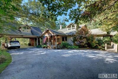 Highlands Single Family Home For Sale: 177 Mountain Shadows Drive