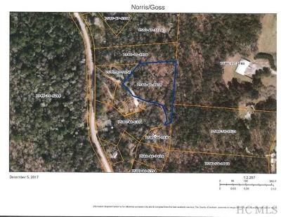 Cashiers Residential Lots & Land For Sale: Tbd Spur Road