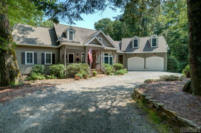 Cashiers Single Family Home For Sale: 783 Wayfaring Road