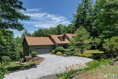 Cashiers Single Family Home For Sale: 159 Divide Drive