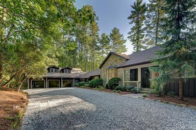 Cashiers Single Family Home For Sale: 638 Chattooga Wood Road