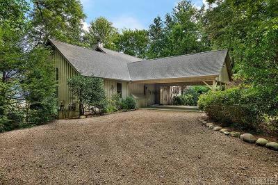 Lake Toxaway Single Family Home For Sale: 224 Panther Ridge Road