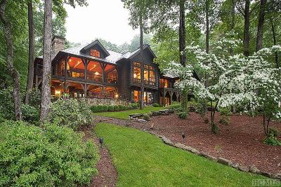 Lake Toxaway Single Family Home For Sale: 151 Cardinal Drive East