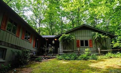 Lake Toxaway Single Family Home For Sale: 455 Seminole Way