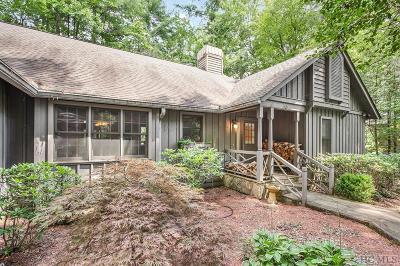 Sapphire Single Family Home For Sale: 11 S Horseshoe Drive