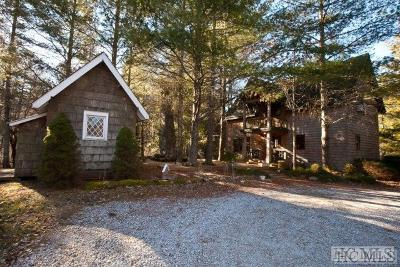 Highlands Single Family Home For Sale: 1264 Flat Mountain Road