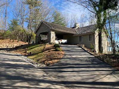 Lake Toxaway Single Family Home For Sale: 131 Club Colony Lane