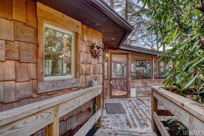 Cashiers Single Family Home For Sale: 105 Decoy Ridge
