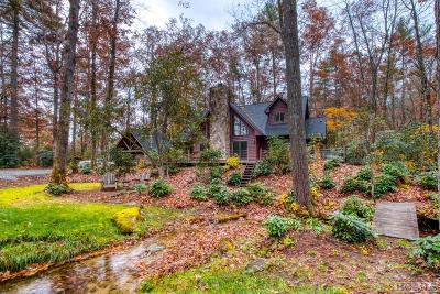Sapphire Single Family Home For Sale: 424 Cherokee Trail