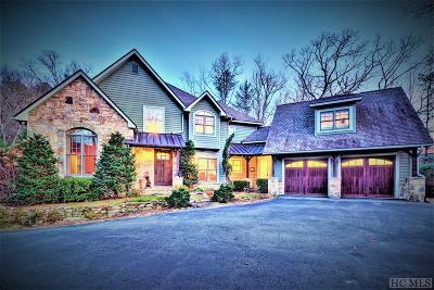 Sapphire Single Family Home For Sale: 346 Running Fox Road