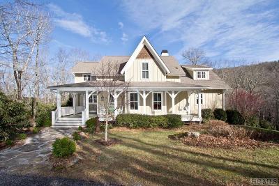 Scaly Mountain Single Family Home For Sale: 120 Cougar Ridge Lane