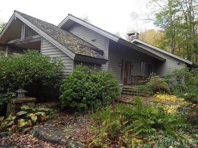 Cullasaja Club Single Family Home For Sale: 68 Crescent Trail