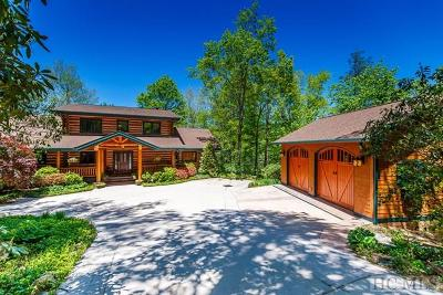 Lake Toxaway Single Family Home For Sale: 70 Club Court