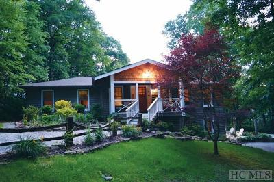 Cashiers Single Family Home For Sale: 127 Highview Road