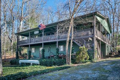 Lake Toxaway Single Family Home For Sale: 87 Cherokee Circle