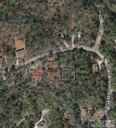 Sapphire Residential Lots & Land For Sale: Tbd Upper Whitewater Road