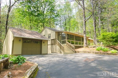 Sapphire Single Family Home For Sale: 354 Narrows Road