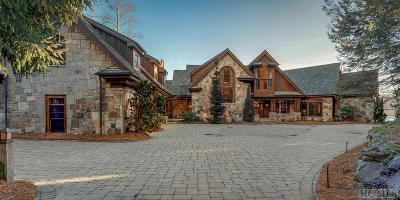 Lake Toxaway Single Family Home For Sale: 41 Chimney Point