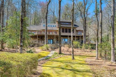 Lake Toxaway Single Family Home For Sale: 2338 West Club Blvd