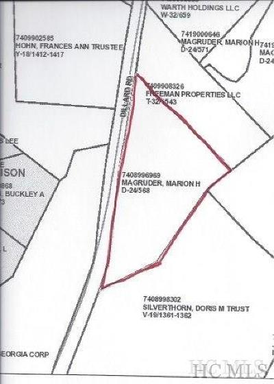 Scaly Mountain Residential Lots & Land For Sale: Dillard Road