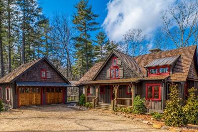 Sapphire Single Family Home For Sale: 158 Long Lake Trail