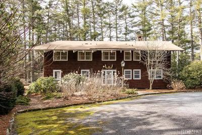 Highlands Cc Single Family Home For Sale: 560 Cobb Road