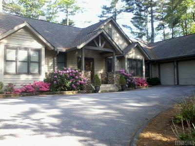 Sapphire Single Family Home For Sale: 885 Winding Creek Road