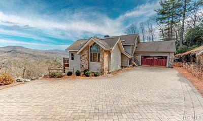 Cashiers Single Family Home For Sale: 357 Rock Mountain Road