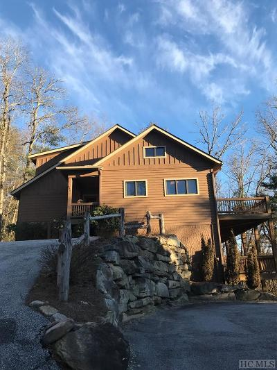 Sapphire Single Family Home For Sale: 80 On The Rocks