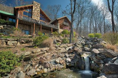 Lake Toxaway Single Family Home For Sale: 254 Panther Ridge Road