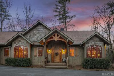 Lake Toxaway Single Family Home For Sale: 245 Chestnut Trace
