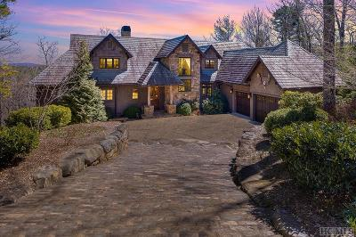 Lake Toxaway Single Family Home For Sale: 154 Homestead Drive