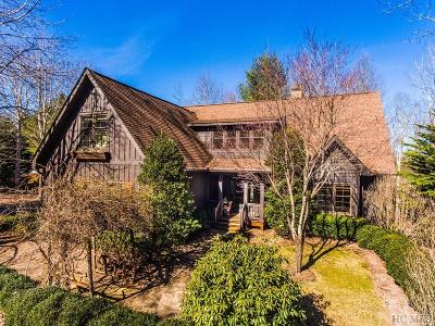 Cashiers Single Family Home For Sale: 125 Audubon Trail