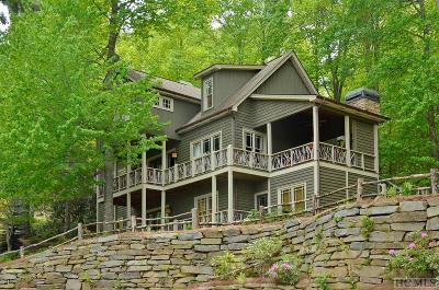 Wildcat Cliffs Cc, Trillium High, Trillium Links, Trillium Place, Highlands Falls Cc, Wade Hampton, Cullasaja Club, Mountaintop Golf Single Family Home For Sale: 32 Rendezvous Ridge Road