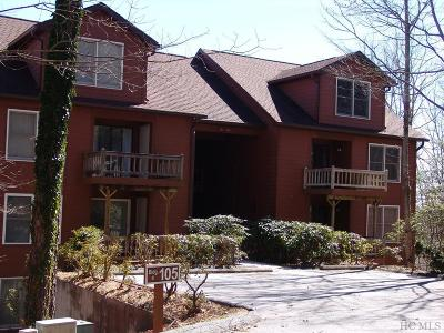 Lake Toxaway Condo/Townhouse For Sale: 105 Toxaway Views Drive #406