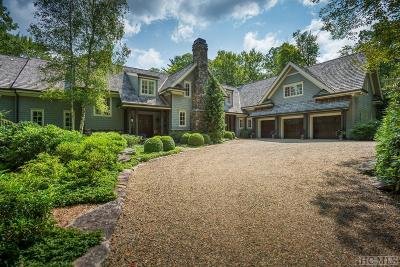 Highlands Single Family Home For Sale: 227 Sagee Woods Drive