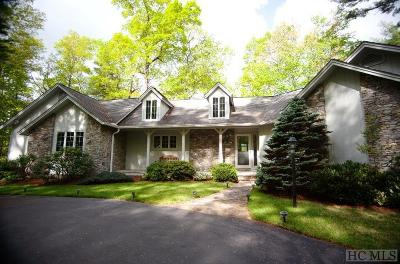 Cashiers Single Family Home For Sale: 264 Tall Hickory Ridge Drive