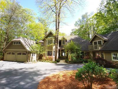 Lake Toxaway Single Family Home For Sale: 27 E Cardinal Drive