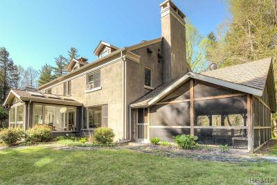 Highlands Single Family Home For Sale: 4265 Horse Cove Road