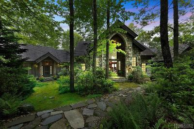 Lake Toxaway Single Family Home For Sale: 673 Panthertown Road