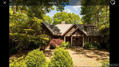 Highlands Single Family Home For Sale: 220 Mount Lori Drive