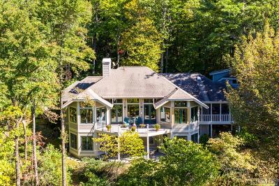 Lake Toxaway Single Family Home For Sale: 158 Seminole Way