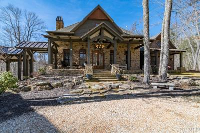Highlands Single Family Home For Sale: 78 Black Bear Trace