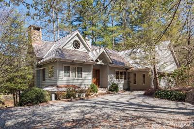 Cashiers Single Family Home For Sale: 130 Racquet Club Drive