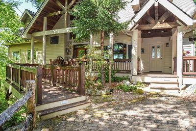 Sapphire Single Family Home For Sale: 276 Deer Crest Drive