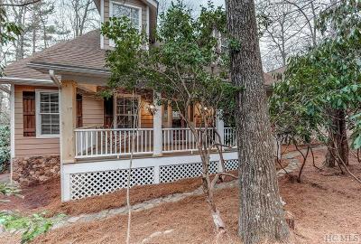 Highlands Single Family Home For Sale: 171 Ridge Lane