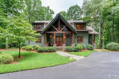 Cashiers Single Family Home For Sale: 252 Audubon Trail